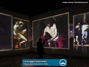 Caravaggio Experience presso Palazzo delle Esposizioni di Roma | Foto 07