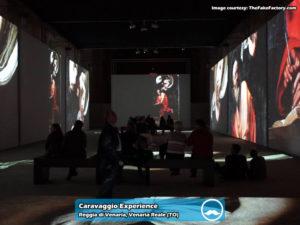 Caravaggio Experience presso Reggia di Venaria Reale | Foto 05