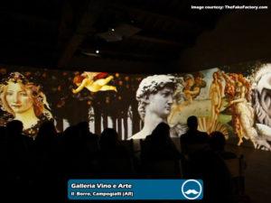 Galleria Vino e Arte presso Il Borro Toscana | Foto 01
