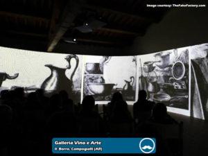 Galleria Vino e Arte presso Il Borro Toscana | Foto 04