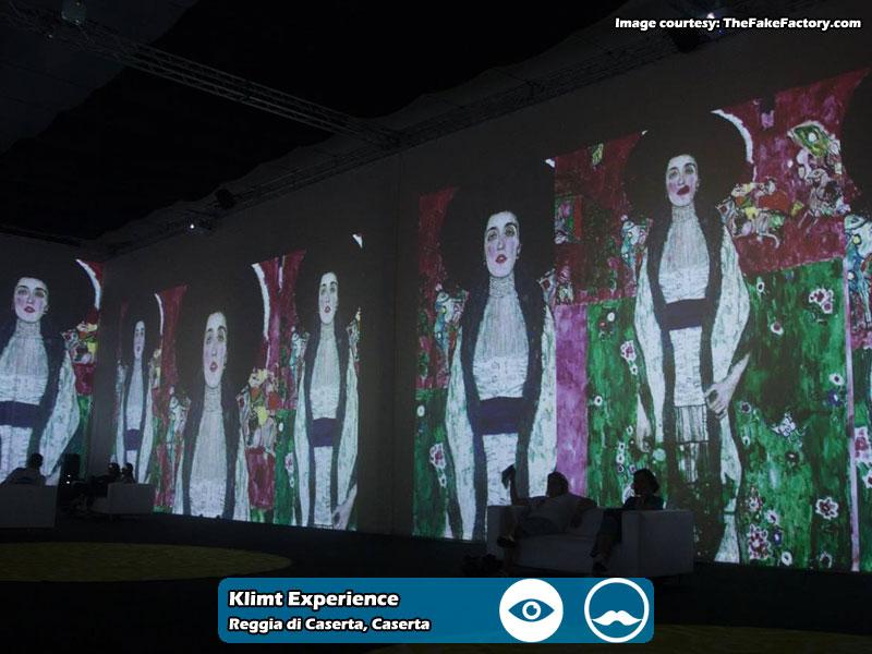 Klimt Experience presso Reggia di Caserta | Foto 02