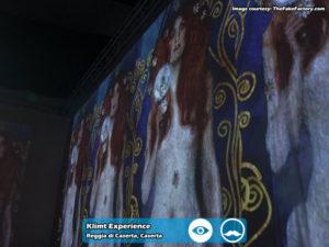 Klimt Experience presso Reggia di Caserta | Foto 04