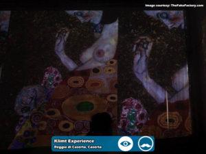 Klimt Experience presso Reggia di Caserta | Foto 08