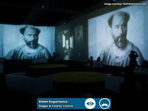 Klimt Experience presso Reggia di Caserta | Foto 09
