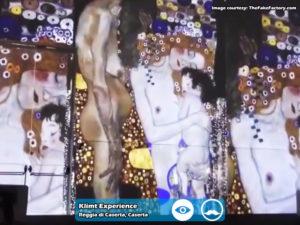 Klimt Experience presso Reggia di Caserta | Foto 11