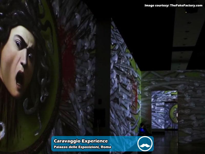 Caravaggio Experience presso Palazzo delle Esposizioni di Roma | Foto 02