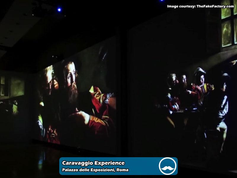 Caravaggio Experience presso Palazzo delle Esposizioni di Roma | Foto 04