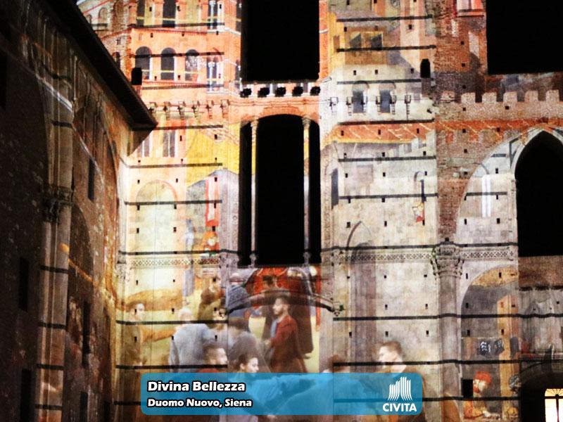 Divina Bellezza presso il Duomo Nuovo di Siena   Foto 04