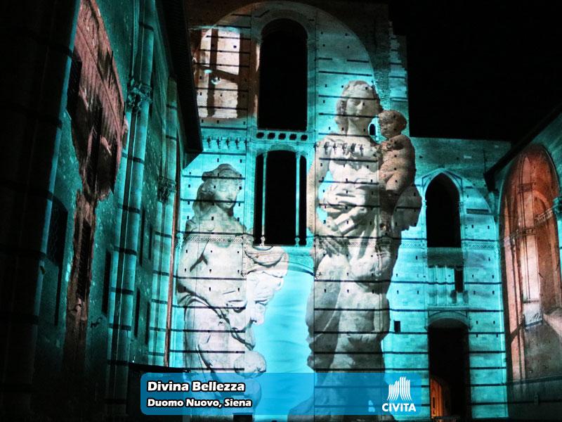 Divina Bellezza presso il Duomo Nuovo di Siena   Foto 08