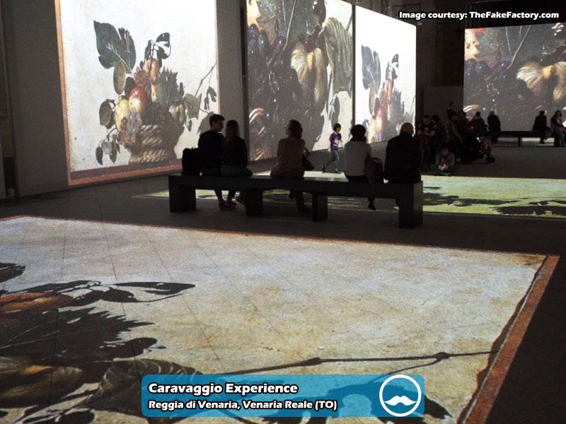 Caravaggio Experience presso Reggia di Venaria Reale | Foto 03