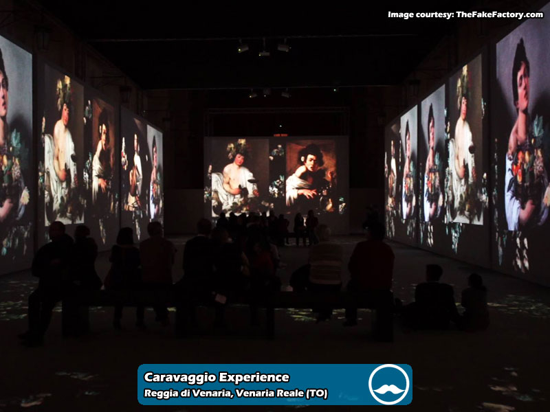 Caravaggio Experience presso Reggia di Venaria Reale | Foto 06