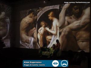 Klimt Experience presso Reggia di Caserta | Foto 01