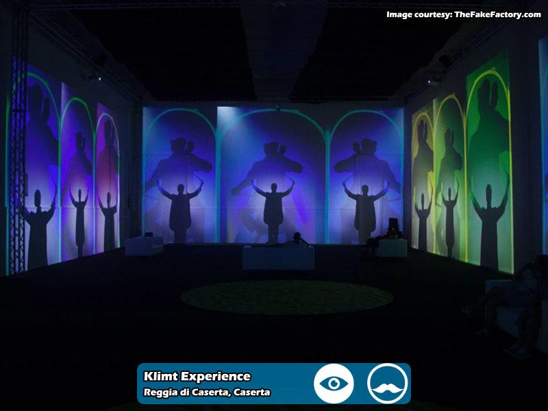 Klimt Experience presso Reggia di Caserta | Foto 03