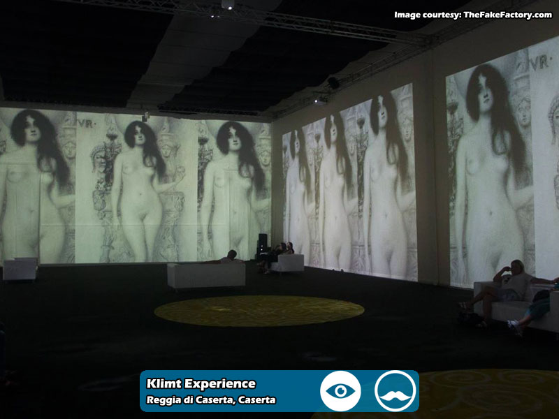 Klimt Experience presso Reggia di Caserta | Foto 05