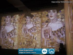 Klimt Experience presso Reggia di Caserta | Foto 07