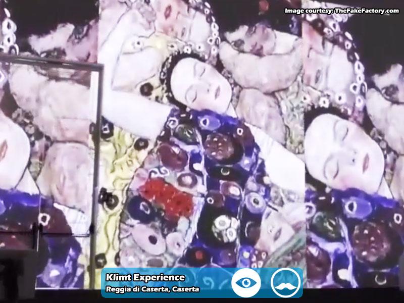 Klimt Experience presso Reggia di Caserta | Foto 12