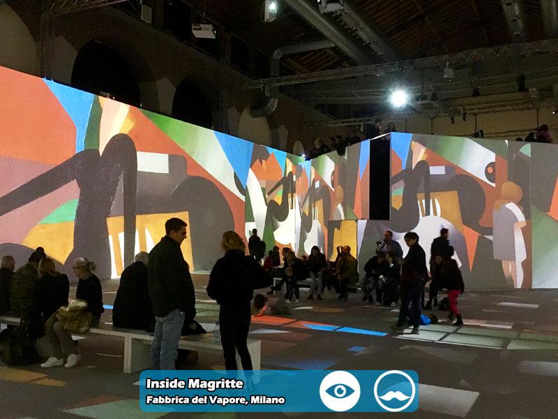 Inside Magritte presso la Fabbrica del Vapore di Milano | Foto 07